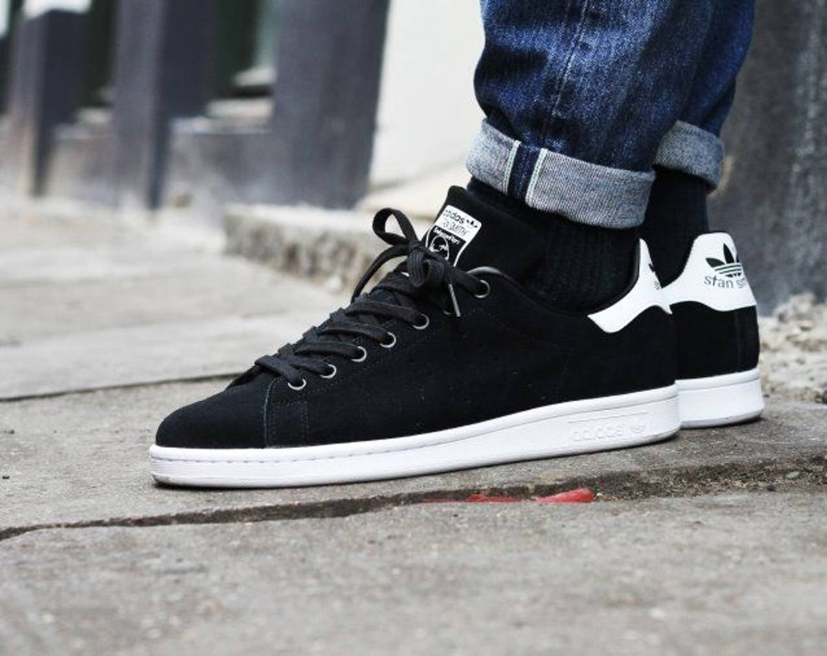 0bb93b12d66d1 Adidas MENS ADIDAS STAN SMITH TENNIS BLACK FTW WHITE SIZE 8 NMD YEEZY ULTRA  BOOST EQT Size 8 - Low-Top Sneakers for Sale - Grailed