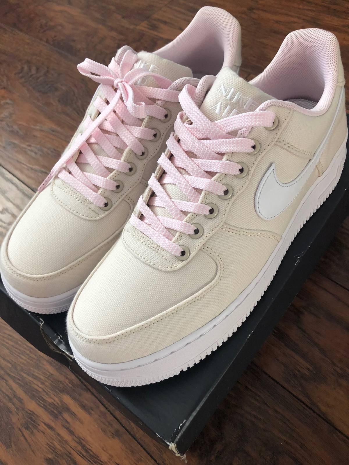 823361923d3 Nike Air Force 1 Miami Vice Natural Linen Canvas Size 9.5 $137