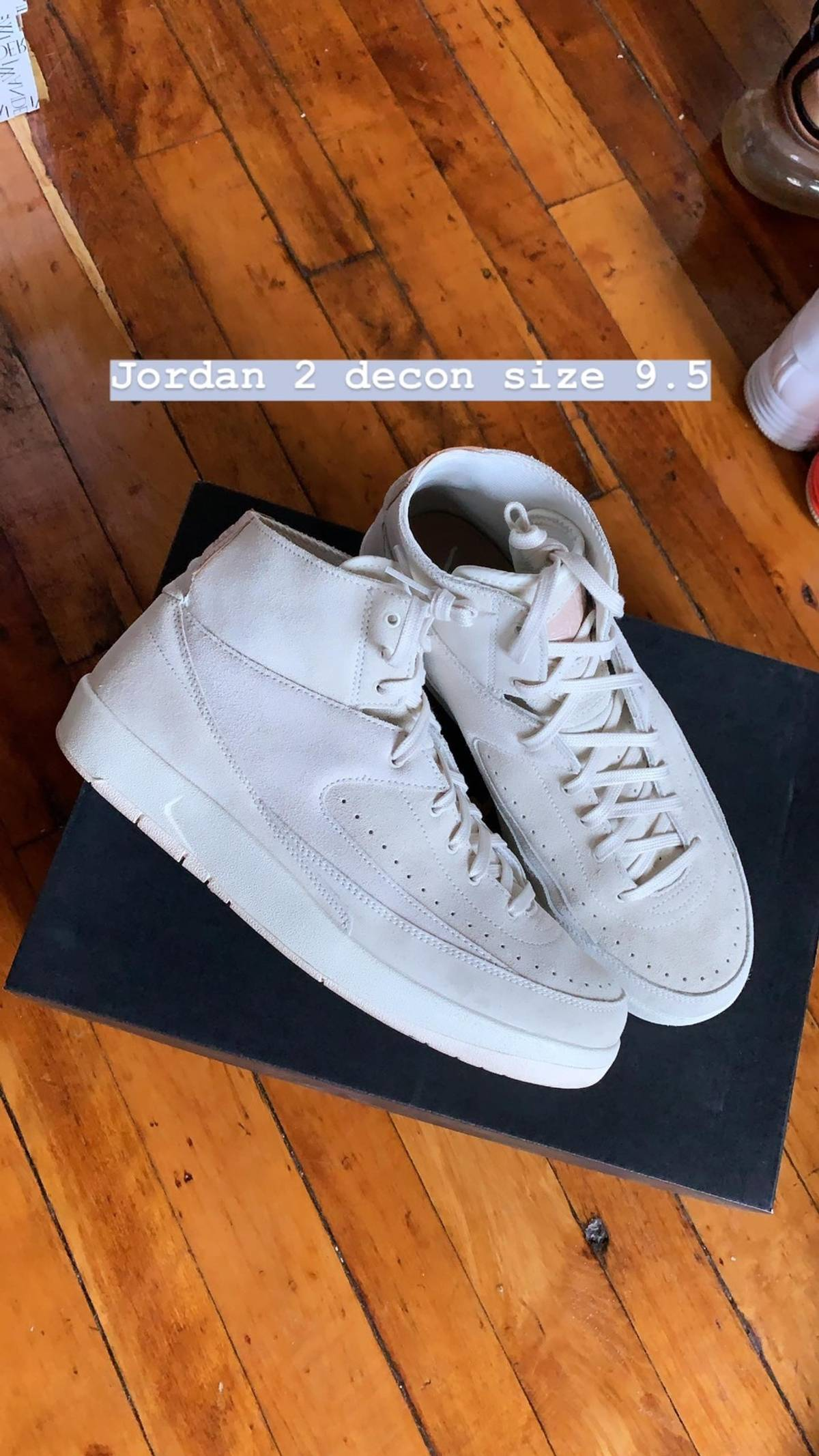 separation shoes ce6d3 76e18 Jordan Brand Air Jordan 2 Retro Deconstructed 'sail' Size 9.5 $81