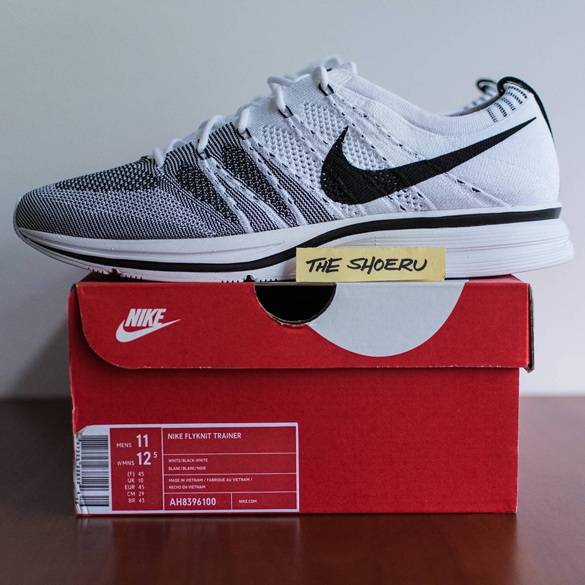 95790aa86e91c Nike Flyknit Trainer - White (AH8396100) Size 11 - Low-Top Sneakers ...