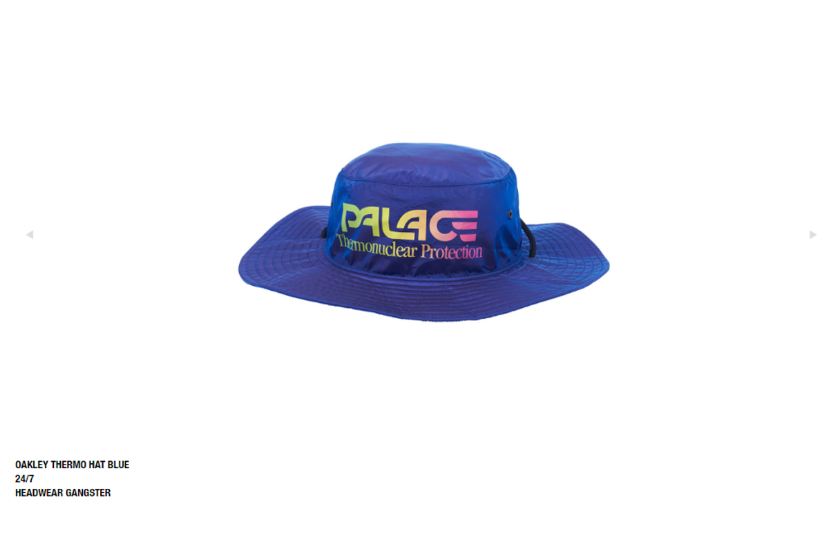 c1678d36 Palace × Oakley ×. Palace OAKLEY THERMO HAT