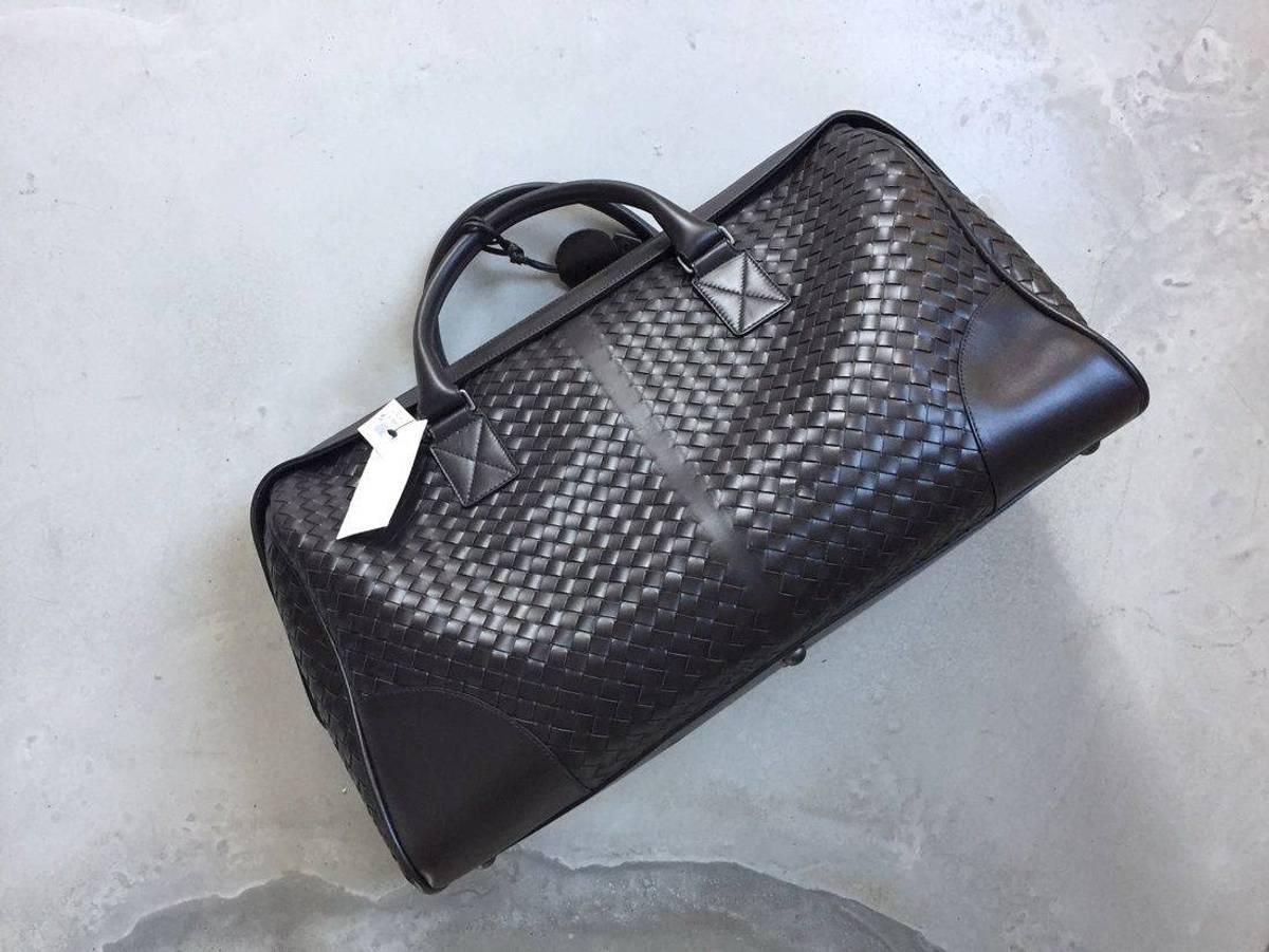 282a09628393 Bottega Veneta BOTTEGA VENETA INTRECCIATO BROWN DUFFLE BAG WEEKENDER  LEATHER HOLDALL BAG KANYE WEST Size one size - Bags   Luggage for Sale -  Grailed