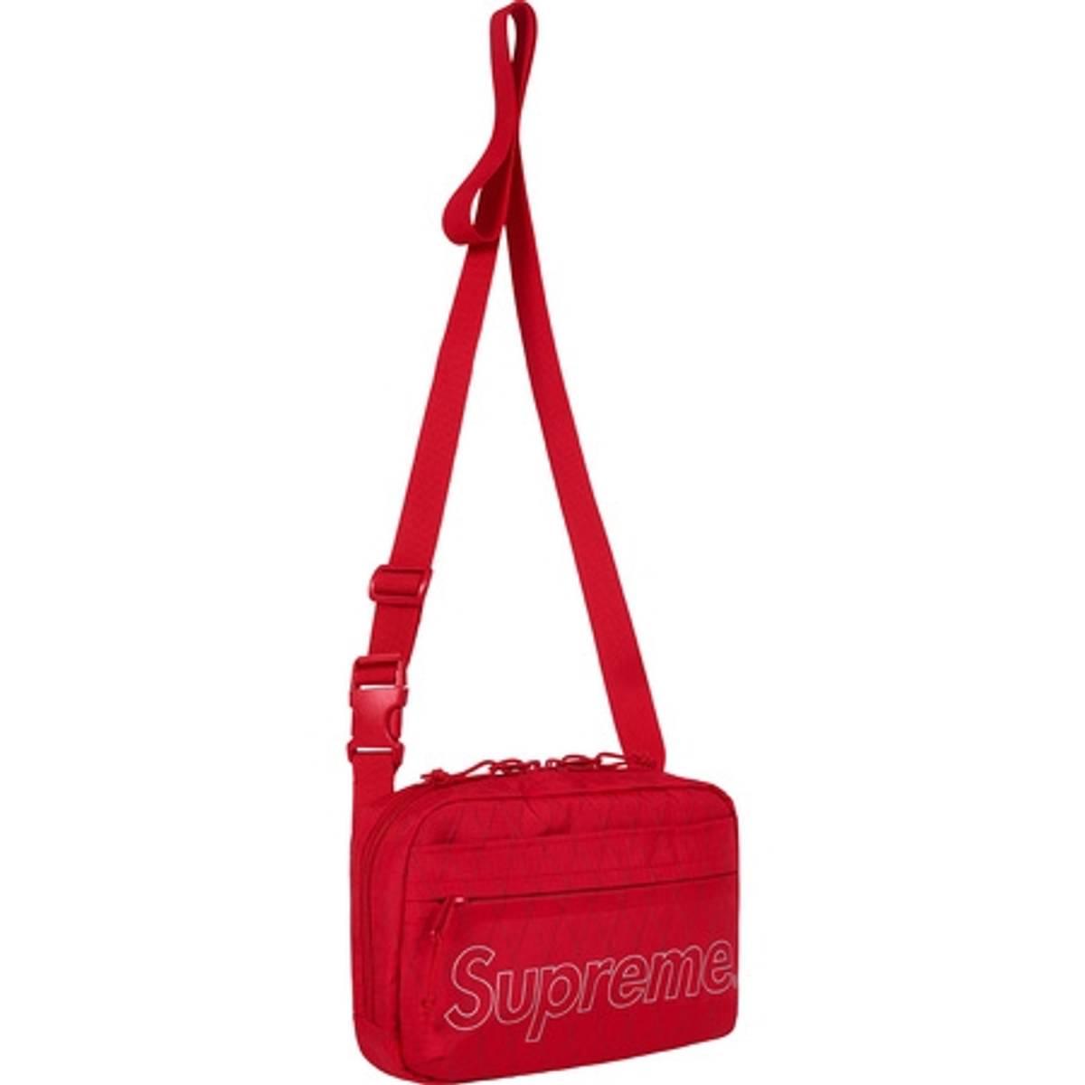 Supreme Supreme Shoulder Bag (fw18) Red   Grailed