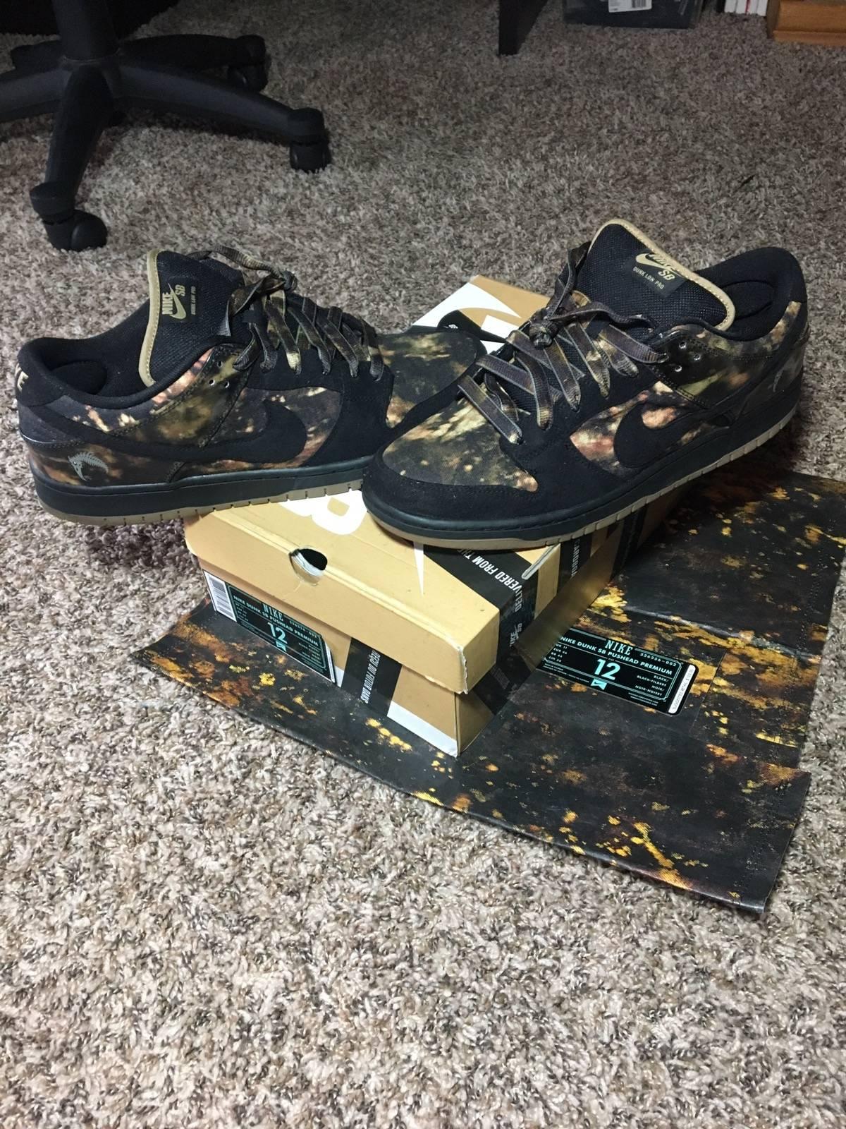 quality design 60c92 6ddd9 Nike Nike Dunk SB Pushead Premium