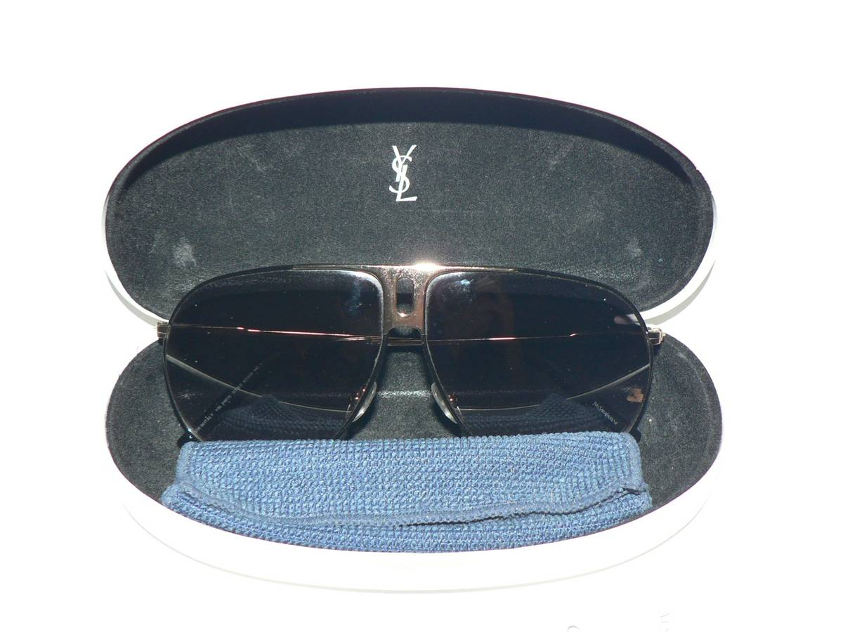 3632ab3d943be Ysl Rive Gauche By Tom Ford Rare Ysl Yves Saint Laurent By Tom Ford Ss2004  Runway Aviator 2117 s Sunglasses