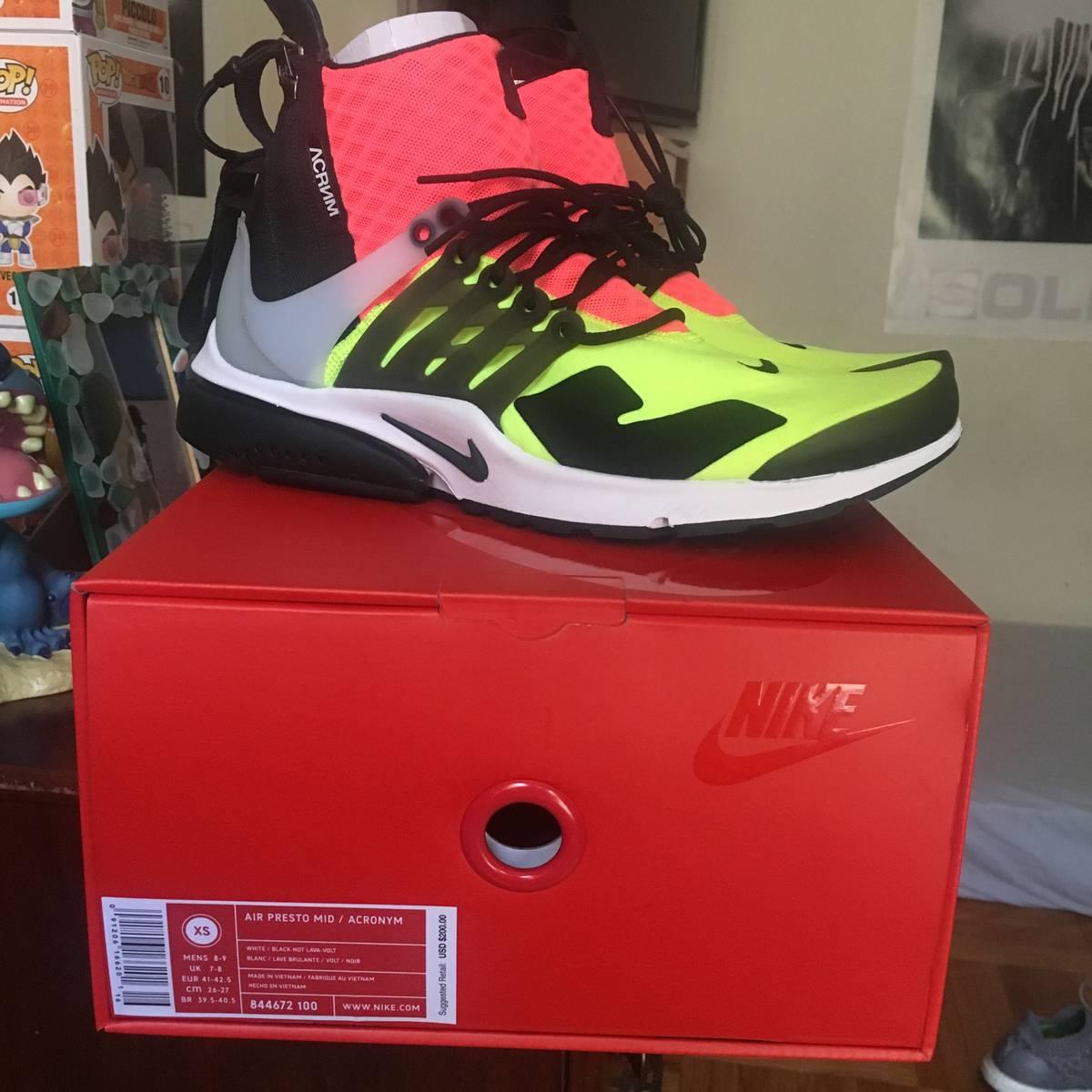 more photos 7c068 87044 Acronym. Acronym Nike air presto (Hot lava)