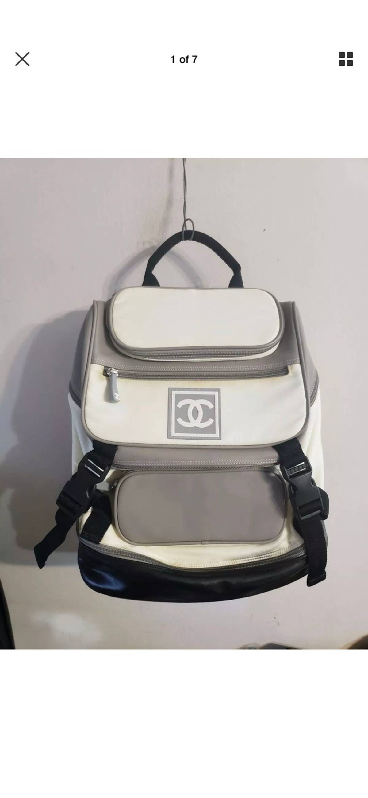 0a7b85d5a Chanel Vintage Chanel Sport Backpack | Grailed