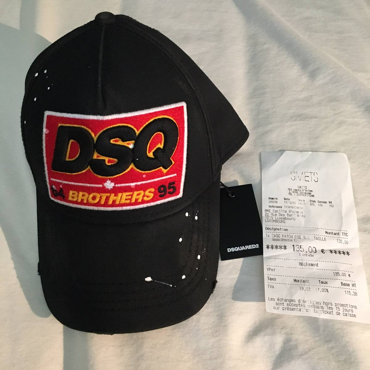 Dsquared2 Brothers Baseball Cap Size one size - Hats for Sale - Grailed b1804531a10