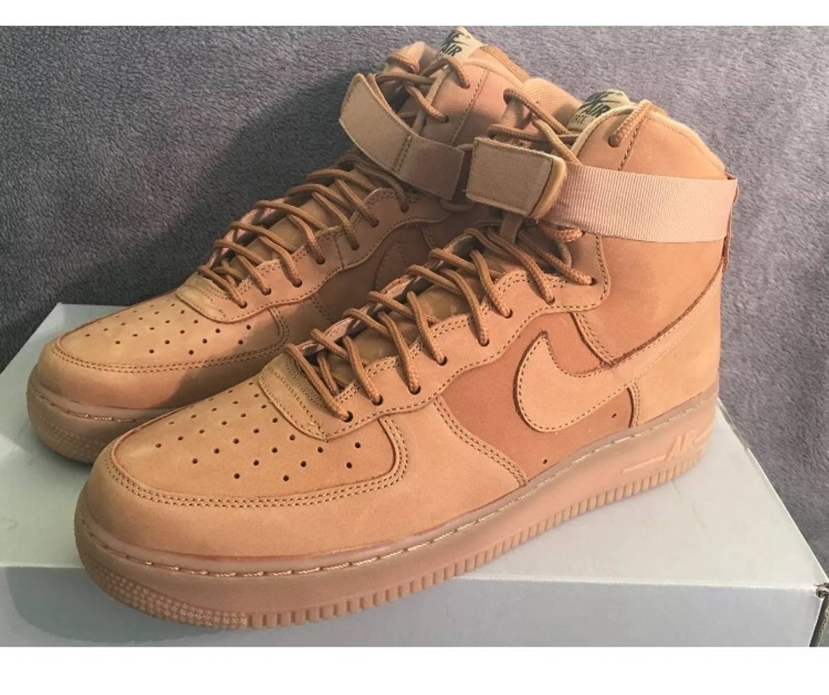 competitive price 4c32d 05754 Nike Nike Air Force 1 High  07 Lv8 Flax Wheat Collection 806403-200 Size  11.5 Mens   Grailed