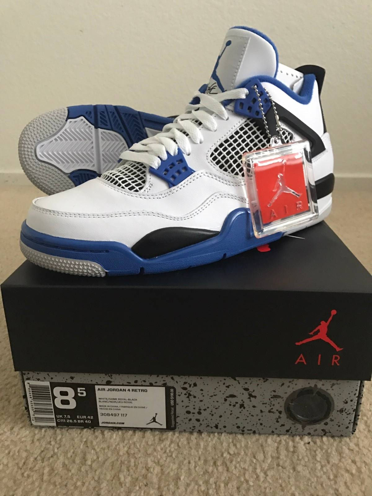 e5a6b4448901 Jordan Brand Jordan Motorsport 4s Size 8.5 - Hi-Top Sneakers for Sale -  Grailed