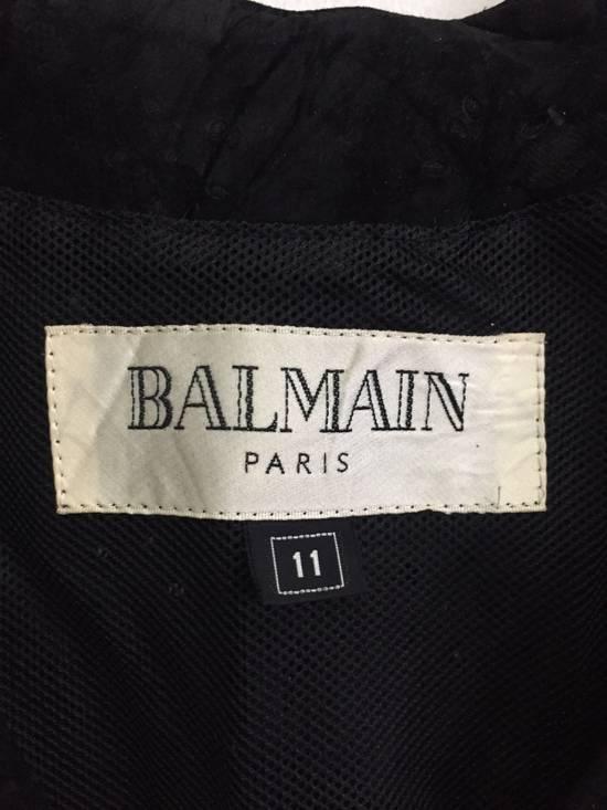 Balmain [ NEED GONE TODAY ! ] Suede Button Vest Jacket Armpit 16x21.5 Size US XS / EU 42 / 0 - 3