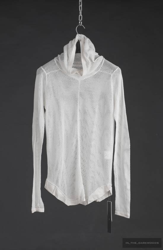 Julius mesh knit cotton hooded top 2015SS Size US S / EU 44-46 / 1