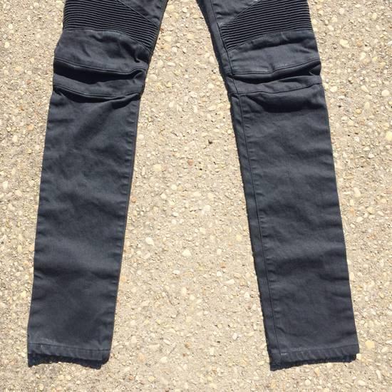Balmain Gray Biker Jeans Size US 27 - 2