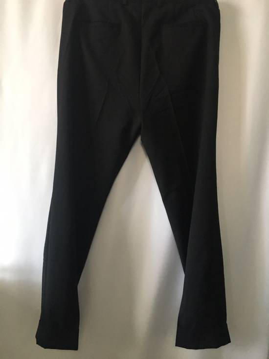 Givenchy Givenchy Cuffed Wool Uniform Pants Size US 36 / EU 52 - 3