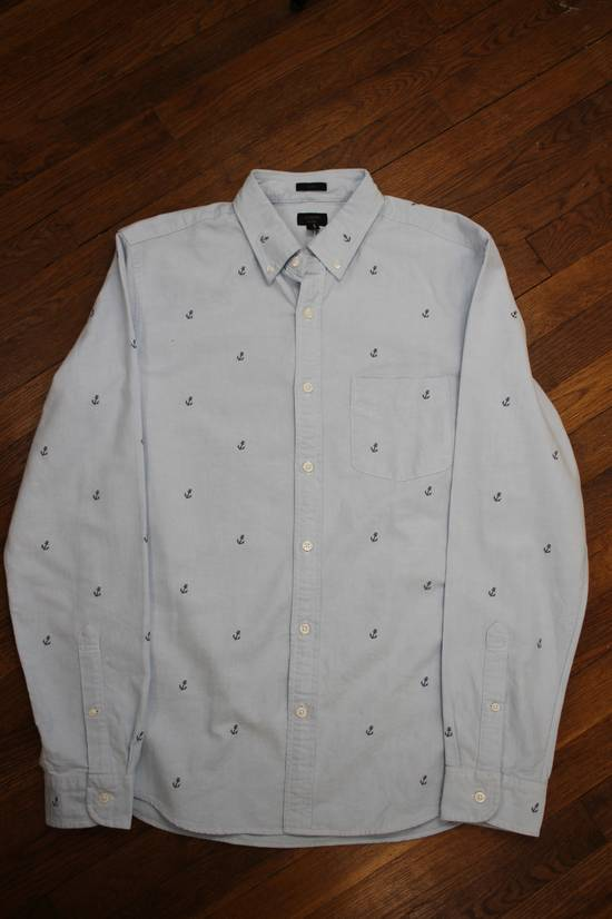 J. Crew Sailboat Embroidered Oxford