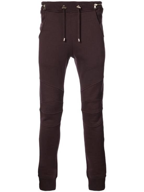 Balmain Balmain Burgundy Sweatpants Large Size US 34 / EU 50