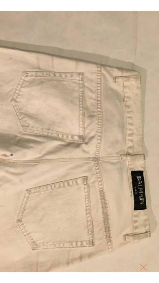 Balmain White Denim Size US 30 / EU 46 - 4