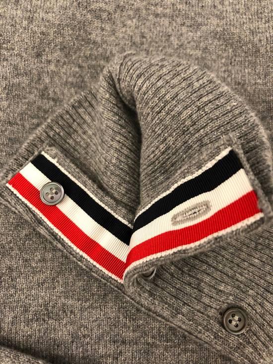 Thom Browne THOM BROWNE Slim-Fit Striped Cashmere Cardigan Size US XL / EU 56 / 4 - 3