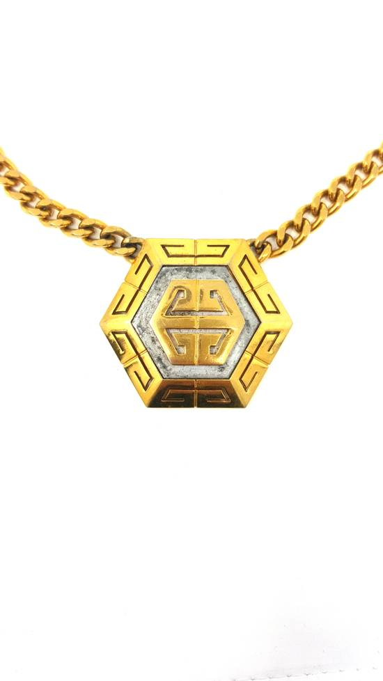 Givenchy Gold plated logo necklace Size ONE SIZE - 3
