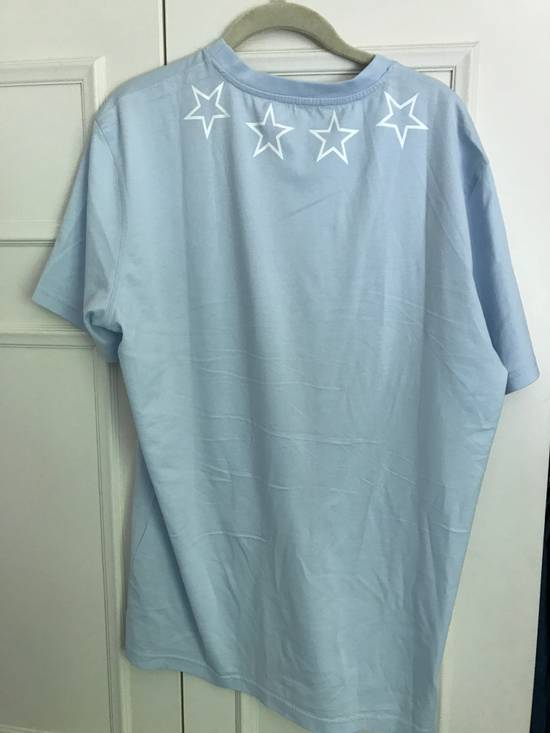 Givenchy Light Blue Star T shiirt Size US XL / EU 56 / 4 - 1