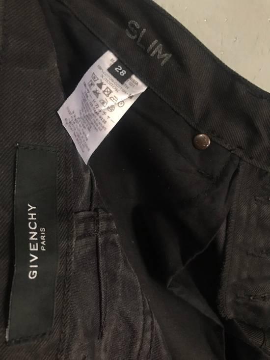 Givenchy BLACK INDIGO DYED GIVENCHY WRINKLED EFFECT DENIM Size US 28 / EU 44 - 9