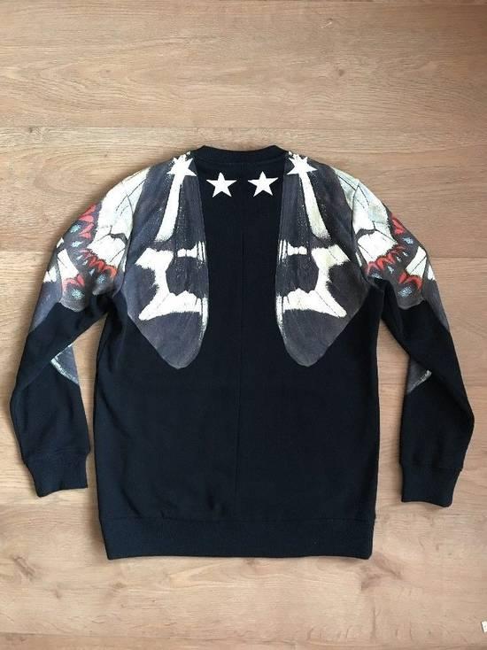 Givenchy Black Butterfly Stars Printed Sweatshirt Size M White Jumper Top Fleece Size US M / EU 48-50 / 2 - 7