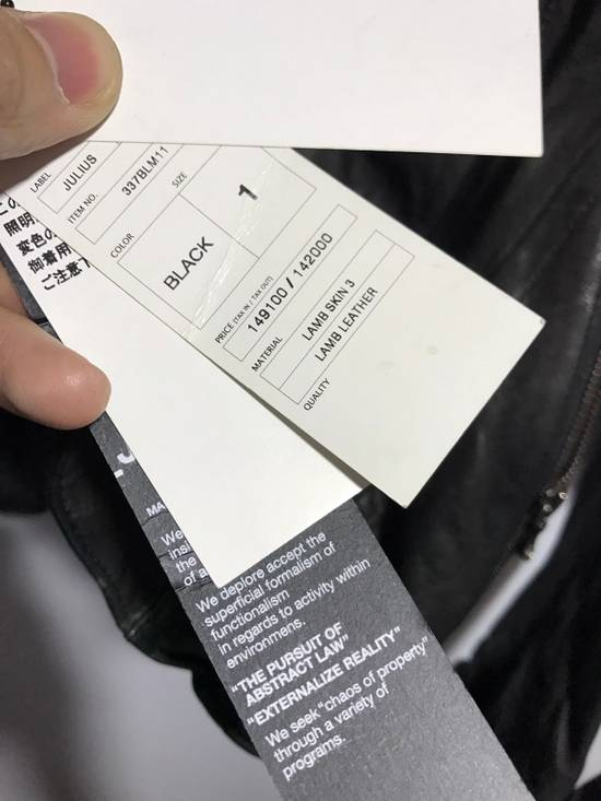 Julius leather jacket Size US S / EU 44-46 / 1 - 8