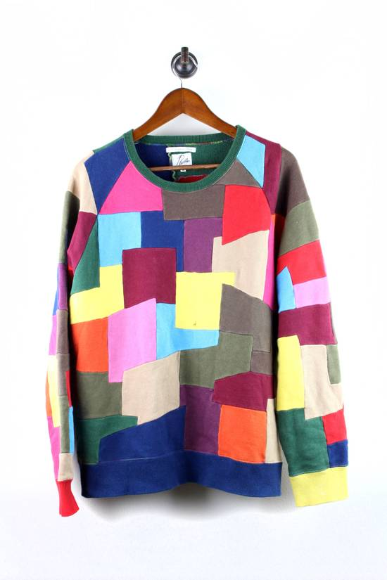 Number (N)ine Extremely Rare Needles x Number Nine Patchwork Sweater Size US M / EU 48-50 / 2