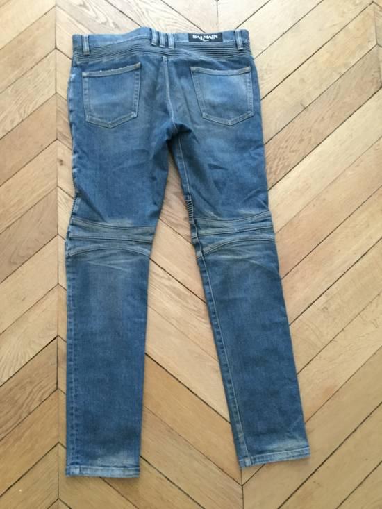 Balmain Balmain Biker Jeans Slim Fit Size 33 Size US 33 - 1