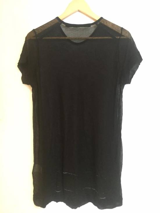 Julius Julius_7 SHEER SHORT SLEEVE T-SHIRT Size US S / EU 44-46 / 1 - 2