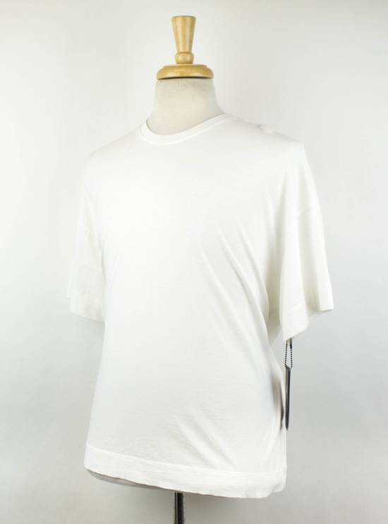 Julius White Cotton Short Sleeve Crewneck T-Shirt Size 2/S Size US S / EU 44-46 / 1 - 1