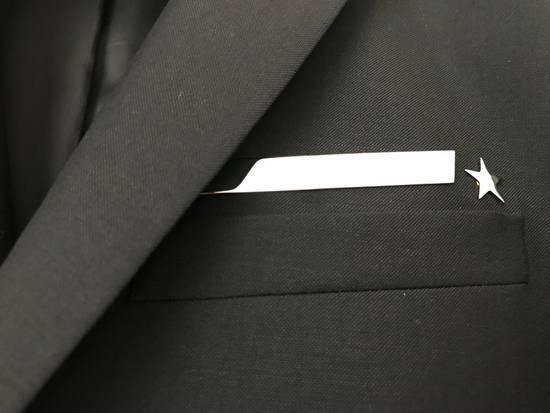 Givenchy Stripe Star Wool Blazer Size 38R - 2