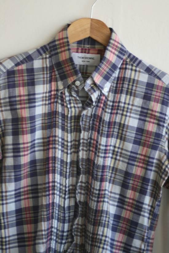 Thom Browne Thom Browne Madras Shirt Size US S / EU 44-46 / 1 - 1