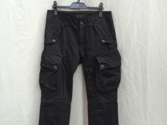 Julius FW09 Black Slim Gas Mask Cargo Pants Size US 30 / EU 46 - 2