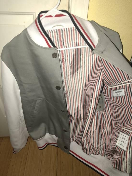 Thom Browne Rare Two Tone Varsity Jacket Size US S / EU 44-46 / 1 - 2