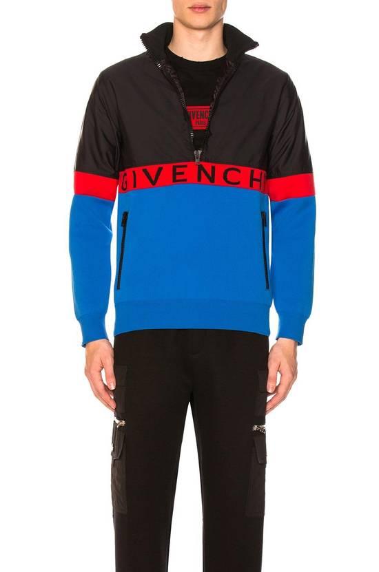 Givenchy Givenchy Half Zip Logo Band Jacket in Blue Size US M / EU 48-50 / 2