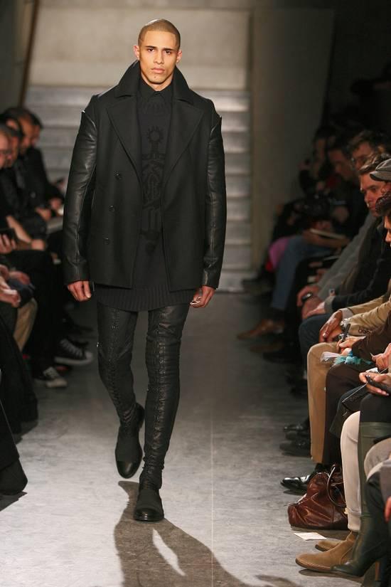 Givenchy FW09 Oversized Black Sweater Anchor Intarsia Size US XS / EU 42 / 0