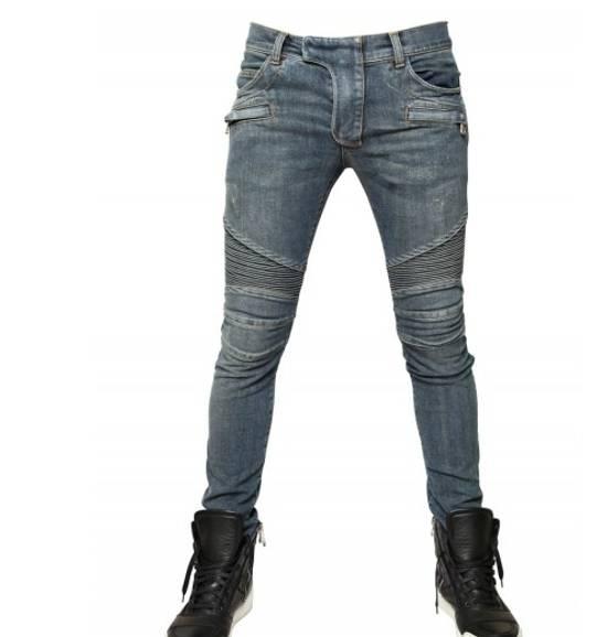 Balmain ss12 Biker jeans (fit 28) Size US 29 - 11