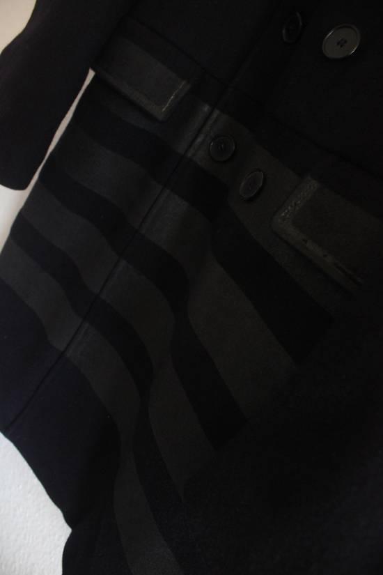 Helmut  Lang AW97 OG Archival Resin Stripe Military Coat Size US M / EU 48-50 / 2 - 5
