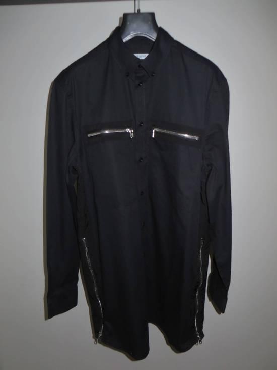 Givenchy Black zipped shirt Size US XL / EU 56 / 4