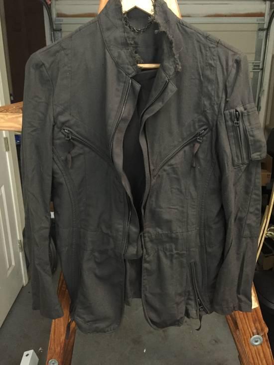 Julius AW06 Multi Zip Distressed Military Jacket Size US XS / EU 42 / 0