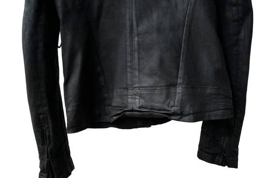 Julius JULIUS _7 ma moto black knit denium biker jacket sz1 eu44 46 xs s slim fit Japan Size US S / EU 44-46 / 1 - 10