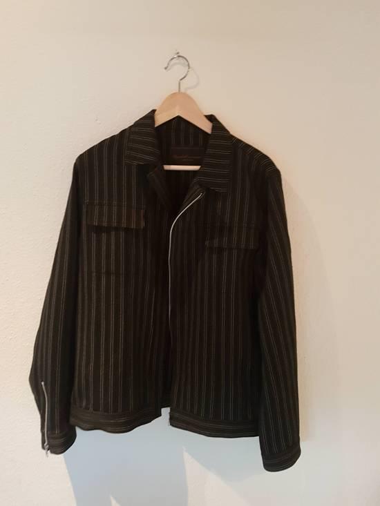 Undercover AW02 Striped Zipper Jacket Size US L / EU 52-54 / 3