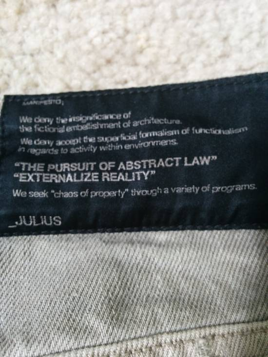 Julius S/S10 arc denim Size US 30 / EU 46 - 3