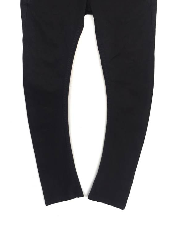 Julius Japanese Artist Designer Blue Tornado Cotton Twill Twist Leg Skinny Trousers Pants Inspired by MA_Julius Size US 30 / EU 46 - 2