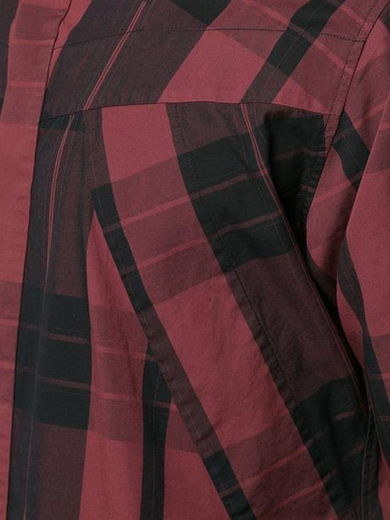 Julius Red Check Panel Shirt Size US M / EU 48-50 / 2 - 4