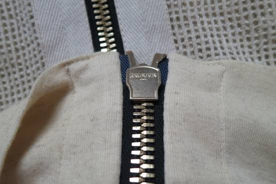 Balmain Zipped Up Cotton/Linen Hoodie Size US XL / EU 56 / 4 - 5