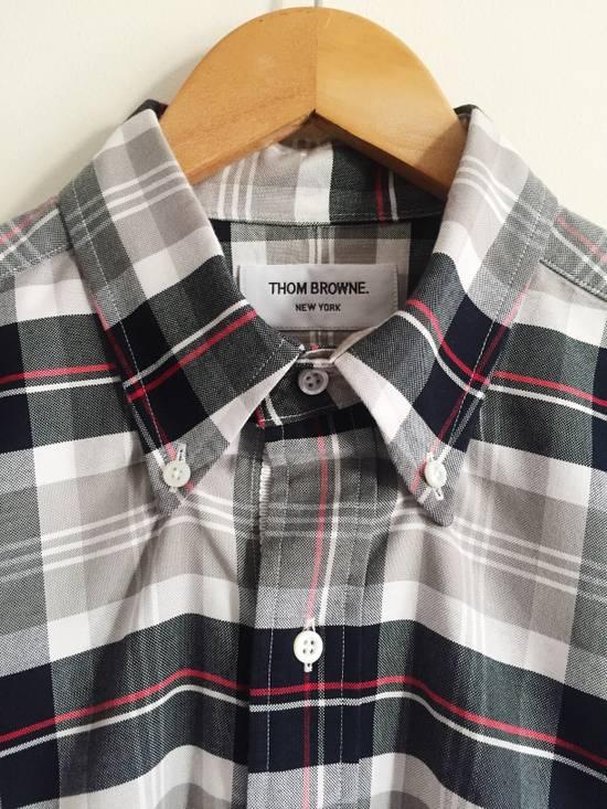 Thom browne plaid oxford cloth shirt size l shirts for Thom browne shirt sale