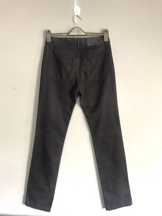 Givenchy BLACK INDIGO DYED GIVENCHY WRINKLED EFFECT DENIM Size US 28 / EU 44 - 2