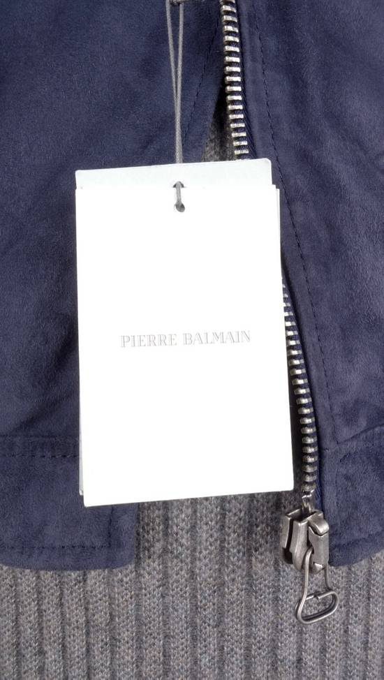 Balmain Balmain Leather Biker Riding Jacket NWT Size US S / EU 44-46 / 1 - 6